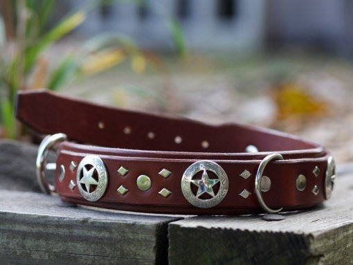 Fancy Leather Dog Collars, Kobicollars