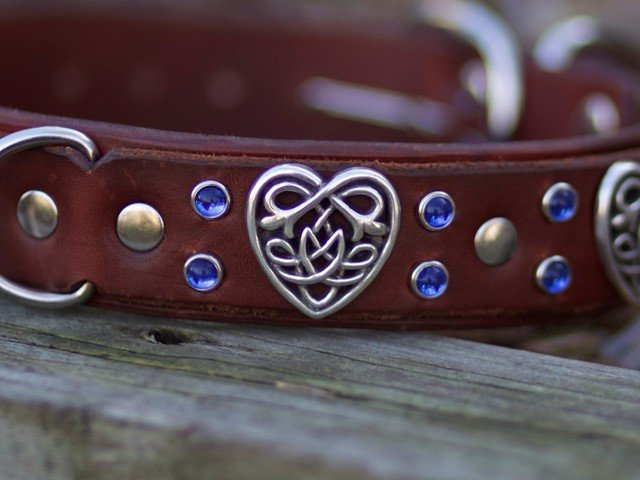 Leather Dog Collars, Kobicollars