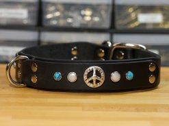 Leather Dog Collars Accessories, Leather Dog Collars, KobiCollars