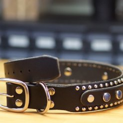 Designer Leather Dog Collars, Leather Dog Collars Accessories,Leather Dog Collars