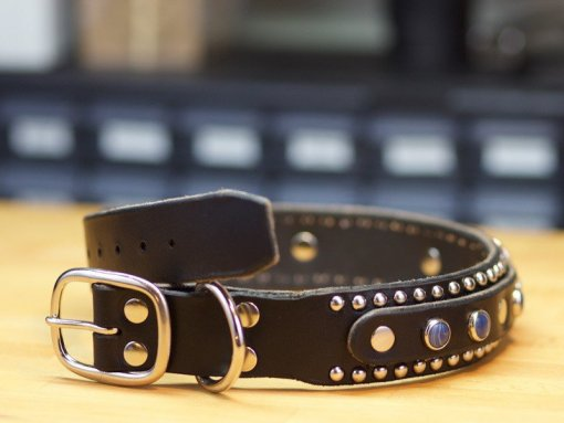 Designer Leather Dog Collars, Leather Dog Collars Accessories,Leather Dog Collars