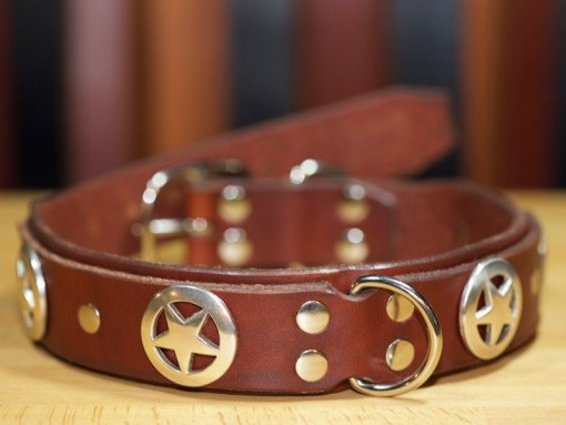 Designer Leather Dog Collars, Leather Dog Collars Accessories,KobiCollars