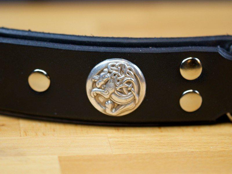 spiked leather dog collars, Dog Collars,Custom Leather Dog Collars, KobiCollars