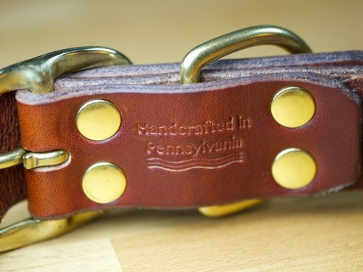Best Leather Dog Collars, Custom Leather Dog Collars, KobiCollars