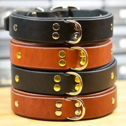 Fancy Leather Dog Collars, Cool Leather Dog Collars, Designer Leather Dog Collars, KobiCollars