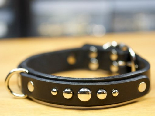 Leather Dog Collars Accessories, Leather Dog Collars, leather dog collars personalized, KobiCollars