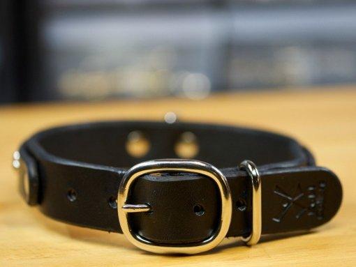 fancy leather dog collars,designer leather dog collars,leather dog collars accessories, KobiCollars