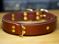 Leather Dog Collars Accessories, Designer Leather Dog Collars, Cool Leather Dog Collars, KobiCollars
